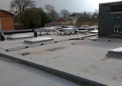 New flat roof, Cheltenham